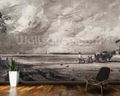 Spring, engraved by David Lucas (1802-81) c.1829-30 (mezzotint) wallpaper mural kitchen preview