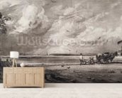 Spring, engraved by David Lucas (1802-81) c.1829-30 (mezzotint) wallpaper mural living room preview