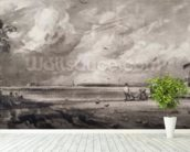 Spring, engraved by David Lucas (1802-81) c.1829-30 (mezzotint) wallpaper mural in-room view