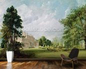 Malvern Hall, Warwickshire, 1821 (oil on canvas) wallpaper mural kitchen preview