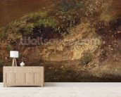 Undergrowth, c.1821 (oil on paper on board) wall mural living room preview