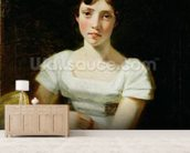 Mary Freer, 1809 (oil on canvas) mural wallpaper living room preview