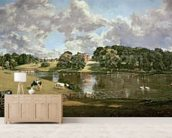 Wivenhoe Park, Essex, 1816 (oil on canvas) wallpaper mural living room preview