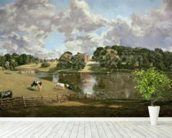 Wivenhoe Park, Essex, 1816 (oil on canvas) wallpaper mural in-room view