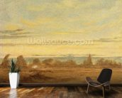 Summer - Evening Landscape (oil on canvas) wall mural kitchen preview