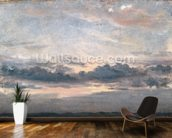 A Cloud Study, Sunset, c.1821 (oil on paper on millboard) wallpaper mural kitchen preview