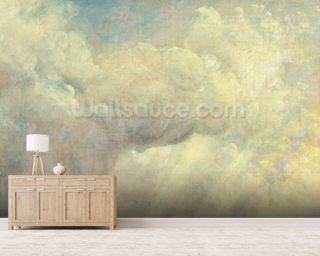 Cloud Study, c.1821 (oil on canvas) mural wallpaper