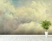 Cloud Study, c.1821 (oil on canvas) mural wallpaper in-room view