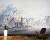 East Bergholt Street, East Bergholt wallpaper mural kitchen preview