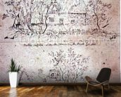 A ruined cottage at Capel, Suffolk mural wallpaper kitchen preview