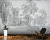 Haddon Hall wallpaper mural kitchen preview