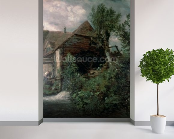 Watermill at Gillingham, Dorset wall mural room setting