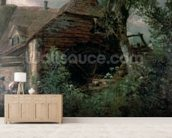 Watermill at Gillingham, Dorset wall mural living room preview