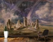 Stonehenge, 1835 (w/c on paper) wall mural kitchen preview