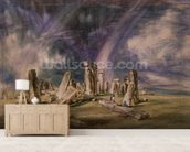 Stonehenge, 1835 (w/c on paper) wall mural living room preview