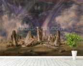 Stonehenge, 1835 (w/c on paper) wall mural in-room view