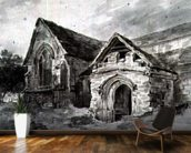 Porch and Transept of a Church, c.1850-11 (w/c on paper) wall mural kitchen preview