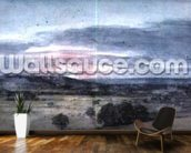 Dedham Vale from East Bergholt: Sunset wallpaper mural kitchen preview