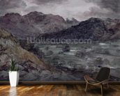 View in Borrowdale (w/c on paper) wall mural kitchen preview