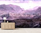 View from the Top of Honister Crag (watercolour) wall mural living room preview
