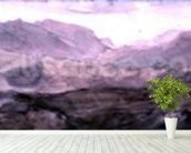 View from the Top of Honister Crag (watercolour) wall mural in-room view