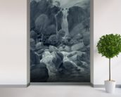 Taylor Ghyll, Sty Head, Borrowdale, 1806 (w/c on paper) wall mural in-room view