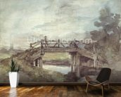 A Bridge over the Stour wallpaper mural kitchen preview