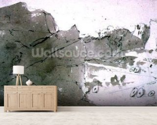 A Quarry for Mill-stones in Derbyshire mural wallpaper