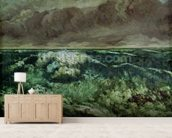 The Wave, after 1870 (oil on canvas) wall mural living room preview