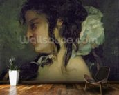 Reflection, c.1864-66 (oil on canvas) wall mural kitchen preview