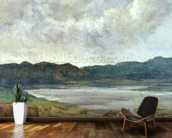 The Black Lake, 1872 (oil on canvas) wall mural kitchen preview
