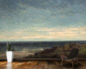 The Sea wallpaper mural kitchen preview