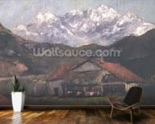 A Hut in the Mountains wall mural kitchen preview
