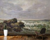The Wave, 1869 (oil on canvas) wallpaper mural kitchen preview