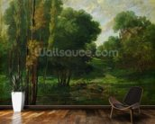 Forest Landscape, 1864 (oil on canvas) wall mural kitchen preview