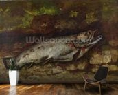 The Trout, 1873 (oil on canvas) wall mural kitchen preview
