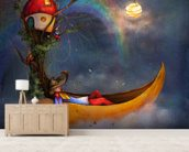 The Day Sleeper wall mural living room preview