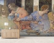 The Last Supper, 1495-97 (fresco) (post restoration) (detail of 227198) wall mural living room preview