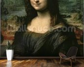 Mona Lisa, c.1503-6 (oil on panel) wall mural kitchen preview