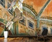 Miss La la at the Cirque Fernando, 1879 (oil on canvas) wall mural kitchen preview