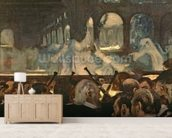 The ballet scene from Meyerbeers opera Robert le Diable, 1876 wallpaper mural living room preview