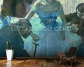Dancer in her dressing room (pastel) wall mural kitchen preview