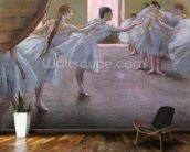 Dancers at Rehearsal, , 1875-1877 (pastel on cardboard) wall mural kitchen preview