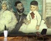 Comte Le Pic and his Sons wallpaper mural kitchen preview