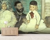 Comte Le Pic and his Sons wallpaper mural living room preview