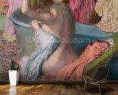 Seated Bather, 1899 (pastel on paper) wall mural kitchen preview
