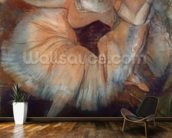 Seated Dancer, 1879-80 (pastel on cardboard) mural wallpaper kitchen preview