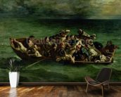 The Shipwreck of Don Juan, 1840 (oil on canvas) (see also 14443) wallpaper mural kitchen preview