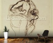Medea, before 1838 (pen & ink on paper) mural wallpaper kitchen preview