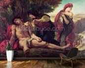 St. Sebastian, 1836 (oil on canvas) wallpaper mural kitchen preview